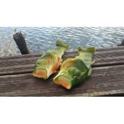 Klapki w kształcie ryby